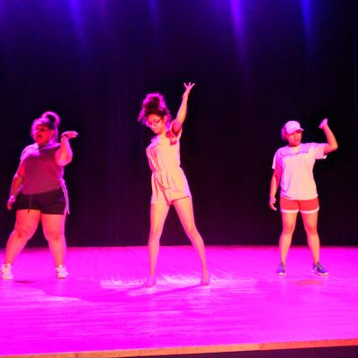 Teen center teen talent show
